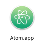 minimalist, atom, work, app, review26
