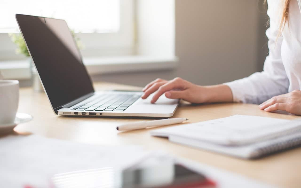 minimalist, laptop, work, app