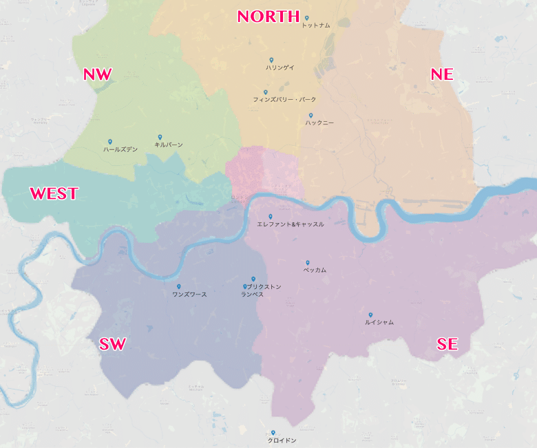 minimal traveler, uk, london, area map006