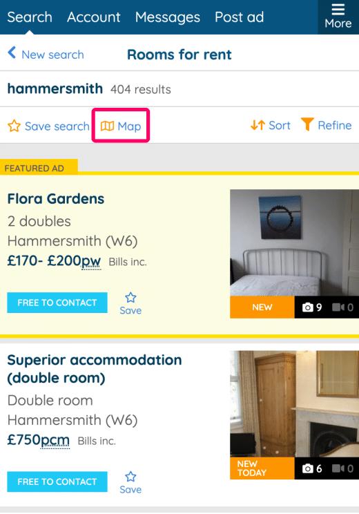 minimal traveler, uk, spareroom, house, find004