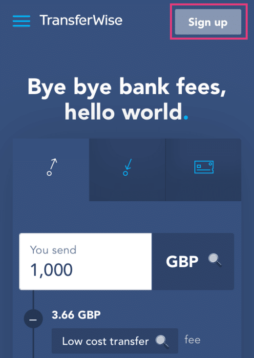minimal traveler, uk, transferwise100