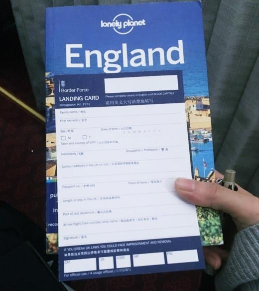 Minimal traveler, immigration document