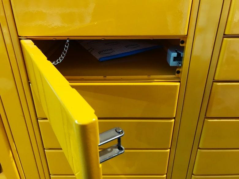 minimal traveler, amazon locker, how to use006