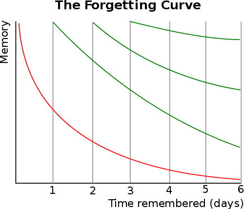 minimal traveler, english study, iknow!, google tool, Oblivion curve01