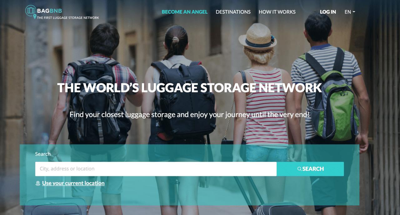 minimal traveler, luggage claim, bagbnb