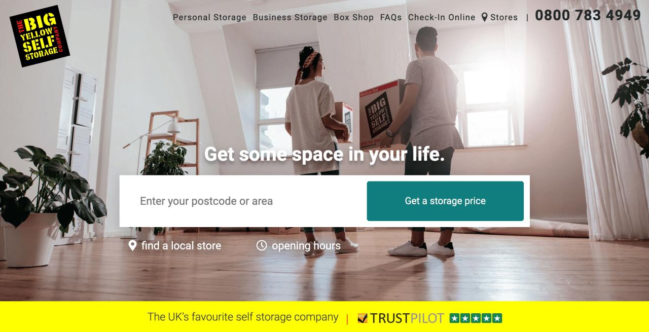 minimal traveler, uk, self storage, company009