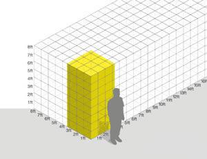 minimal traveler, uk, self storage size10