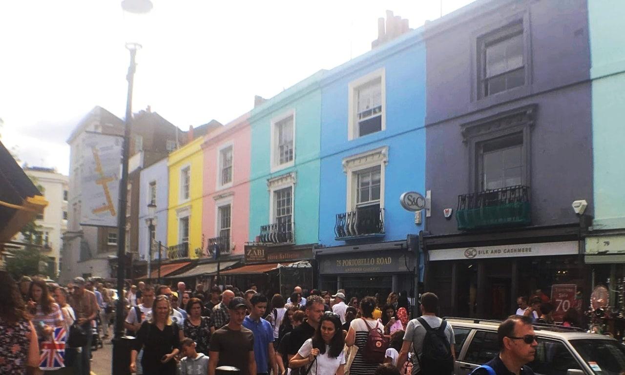 minimal traveler, london street market, Portobello Market02