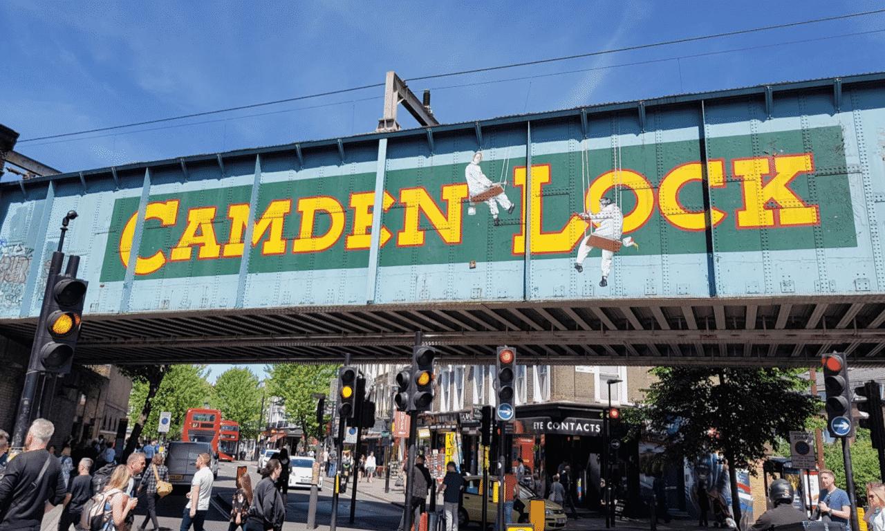 minimal traveler, london street market, Camden Lock Market