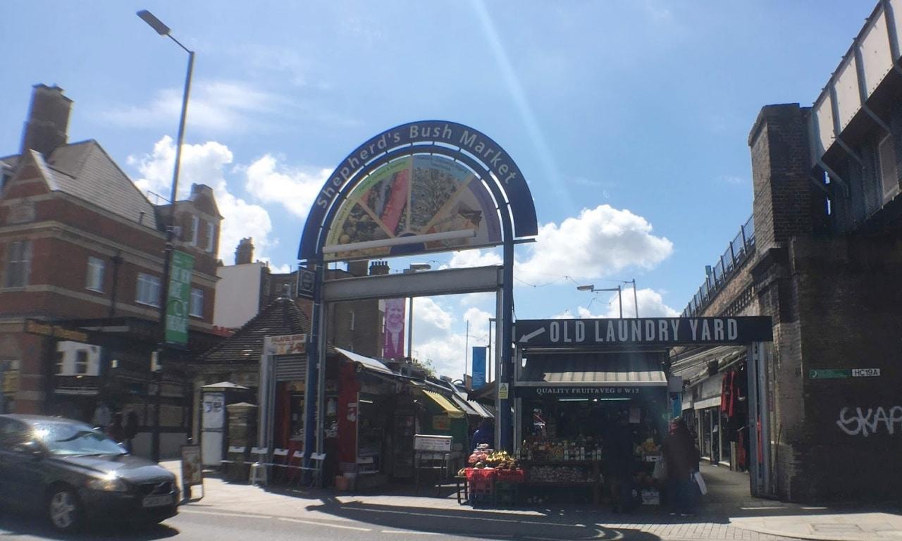minimal traveler, london street market, shepherdsbushmarket