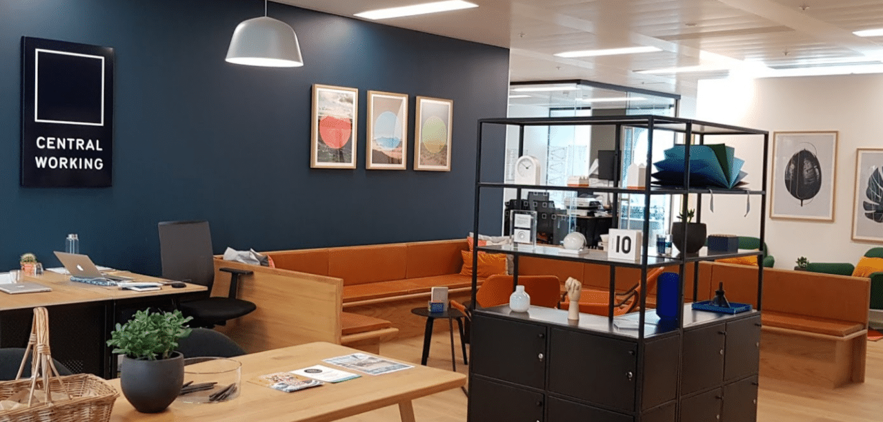 minimal traveler, west london coworking space, Central Working White City01