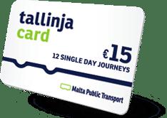 inimal traveler, europe malta, transport, bus, tlinya card002