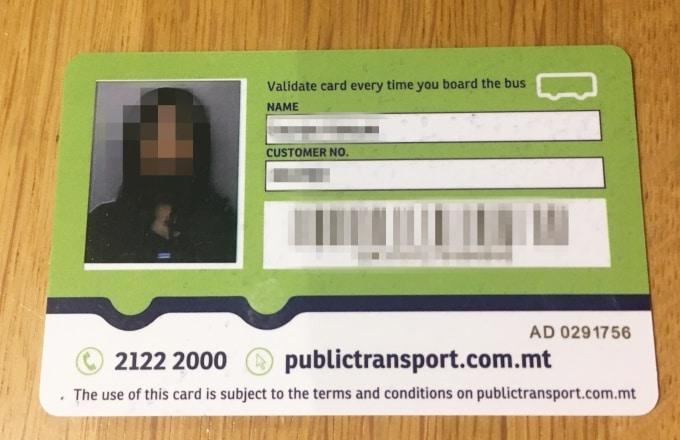 minimal traveler, malta, bus, talinjacard, apply005