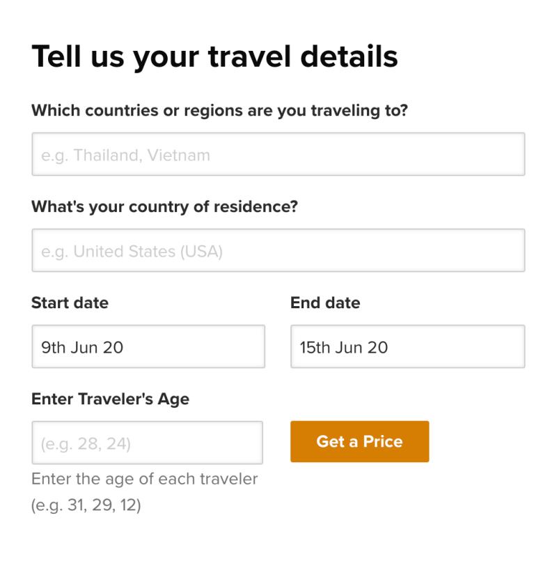 minimal traveler, world nomads, insurance, apply011