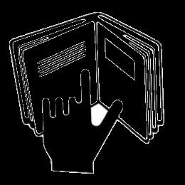 minimal traveler, cosmetics package,symbol refer to insert